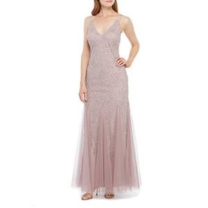 Xscape beaded gown